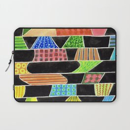 Black versus Color Laptop Sleeve