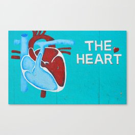 The Heart Canvas Print