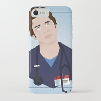 scrubs iPhone & iPod Cases featuring J.D. Scrubs-Let your mind soar like an eeeeeagle. by Violet's Corner