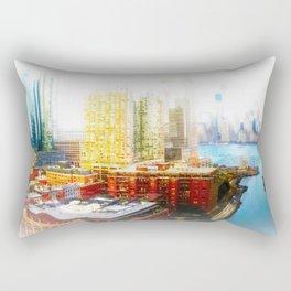 Outside The City Rectangular Pillow