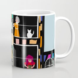 At Home In The City Coffee Mug