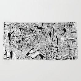 Capharnaüm City Beach Towel