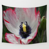 tulip Wall Tapestries featuring Tulip by Vitta