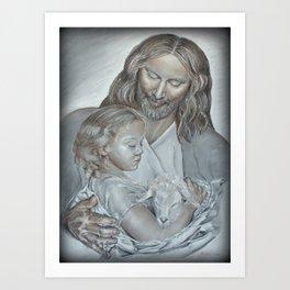 Divine Art Print