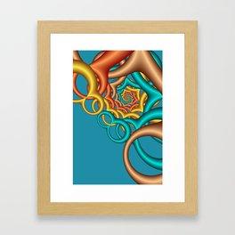 math is beautiful -06- Framed Art Print