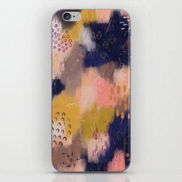 Vernal Abstract Painting iPhone Skin