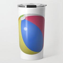 Beach Ball Travel Mug