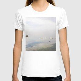 Water reflections on Garda lake T-shirt