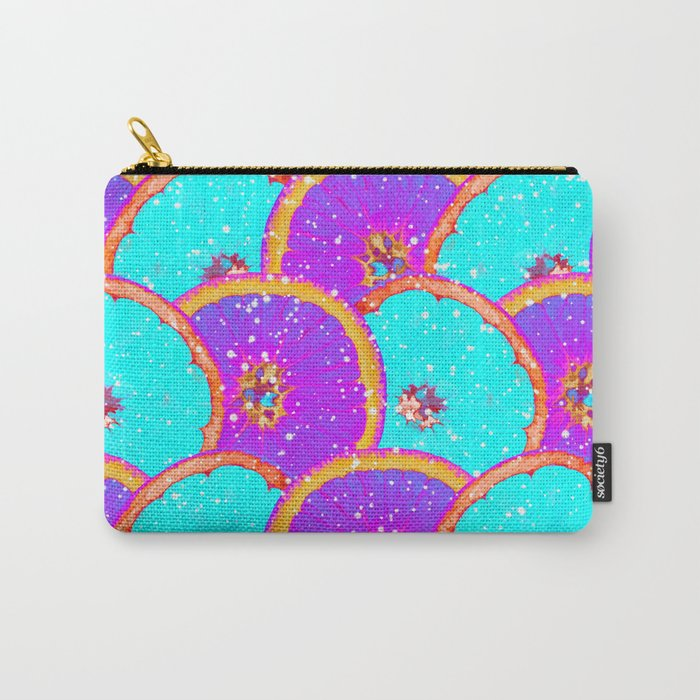 Neon orange Carry-All Pouch