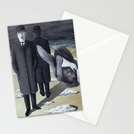 Rene Magritte (The meaning of night) Stationery Cards