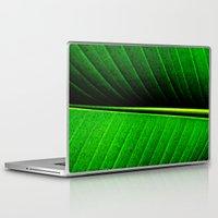 leaf Laptop & iPad Skins featuring Leaf by Melanie Ann
