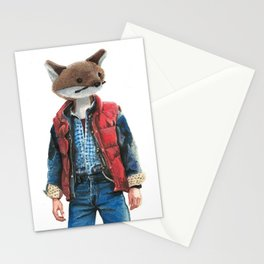 Michael J. Fox Stationery Cards