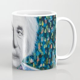 Einstein Painting Coffee Mug