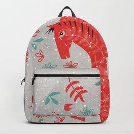 The Red Horse Backpack