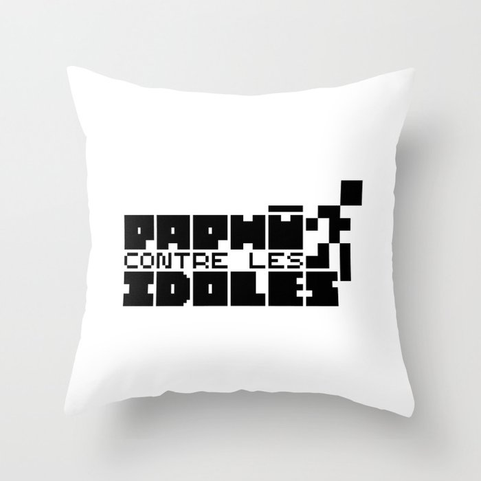 Paphù vs Idols Throw Pillow