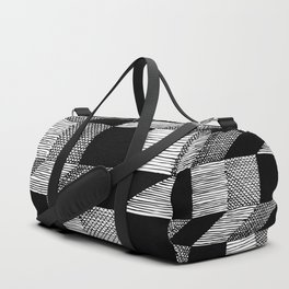 gradient stairs Duffle Bag