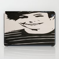 louis tomlinson iPad Cases featuring Louis Tomlinson (1) by farwasart