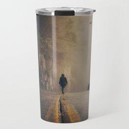 Walking Among Whispers Travel Mug