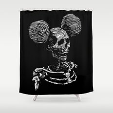 Party Skull Shower Curtain
