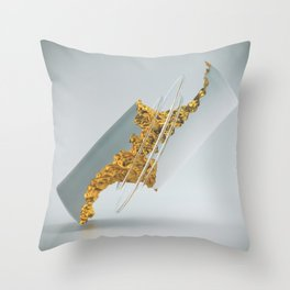 DEDUCT Throw Pillow