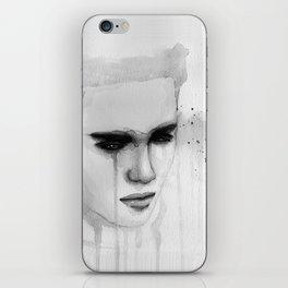 hurt lover iPhone Skin