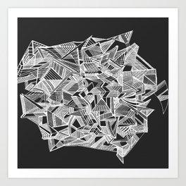Burbank Art Print