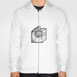 trapped wave Hoody