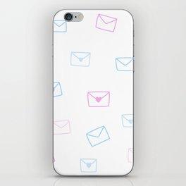 Love note iPhone Skin