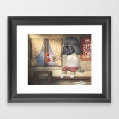Dart Human Fener Framed Art Print