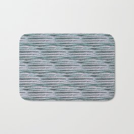Knitting-like crochet texture Bath Mat