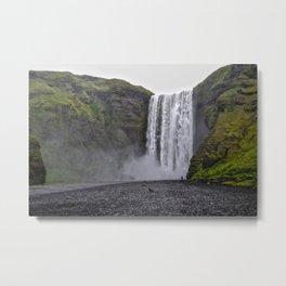 Skogafoss, Iceland Metal Print