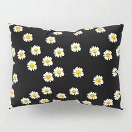 Daisy Cute Face Floral Pillow Sham