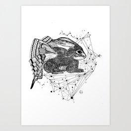 Rabbitfly Art Print