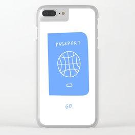 Passport Clear iPhone Case