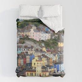 Colorful Cobh Ireland Comforters