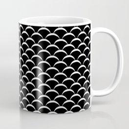 Fish Scales - Black Coffee Mug