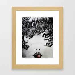3 Bites Framed Art Print