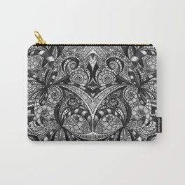 Drawing Floral Zentangle G6B Carry-All Pouch