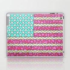 Vintage USA Flag Laptop & iPad Skin