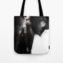 Dark Angel Girl Tote Bag