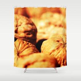 Walnuts Shower Curtain