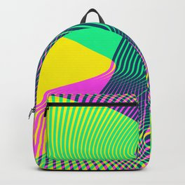 Waves on a new world Backpack