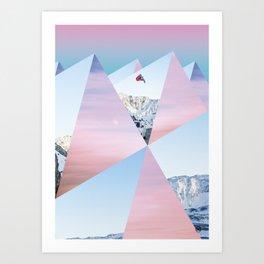 MosaicMountain/ Art Print