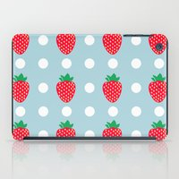 strawberry iPad Cases featuring strawberry by vitamin