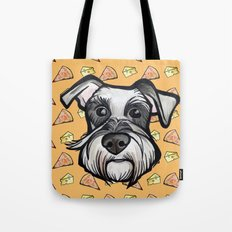 Peter loves pizza and cheese Tote Bag