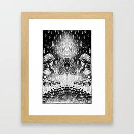 Watchfire Framed Art Print