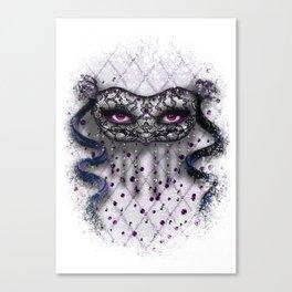 La Mascarade Des Femmes (Day) Canvas Print