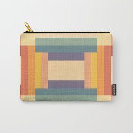 Soft Color Pattern Carry-All Pouch