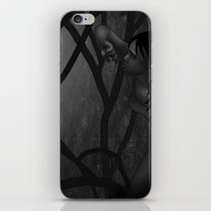 Hiding From the Rain iPhone & iPod Skin