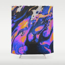FIRED UP & FRUSTRATED Shower Curtain